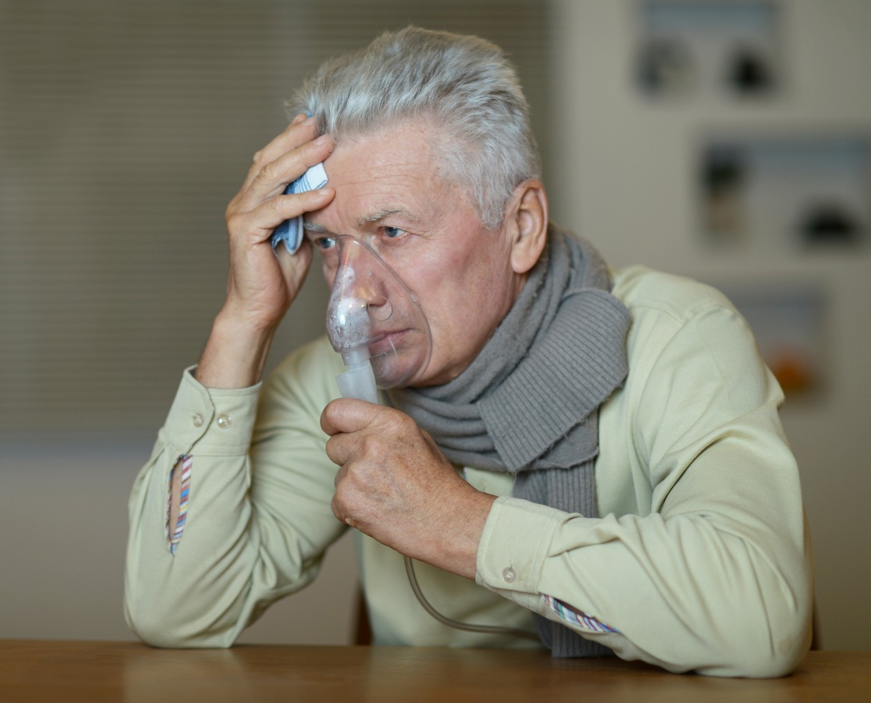COPD Patients Treated with Corticosteroids Might Be at